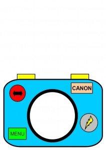 appareil-photo-gabarit-bleu-pour-carte-en-couleur-gris-1