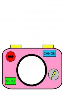 appareil-photo-gabarit-rose-pour-carte-en-couleur-gris-1