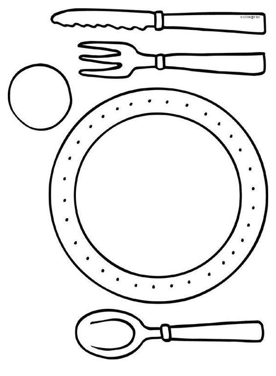 Journ e des petits for Couvert de table en anglais